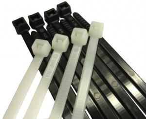 dây rút nhựa trắng đen