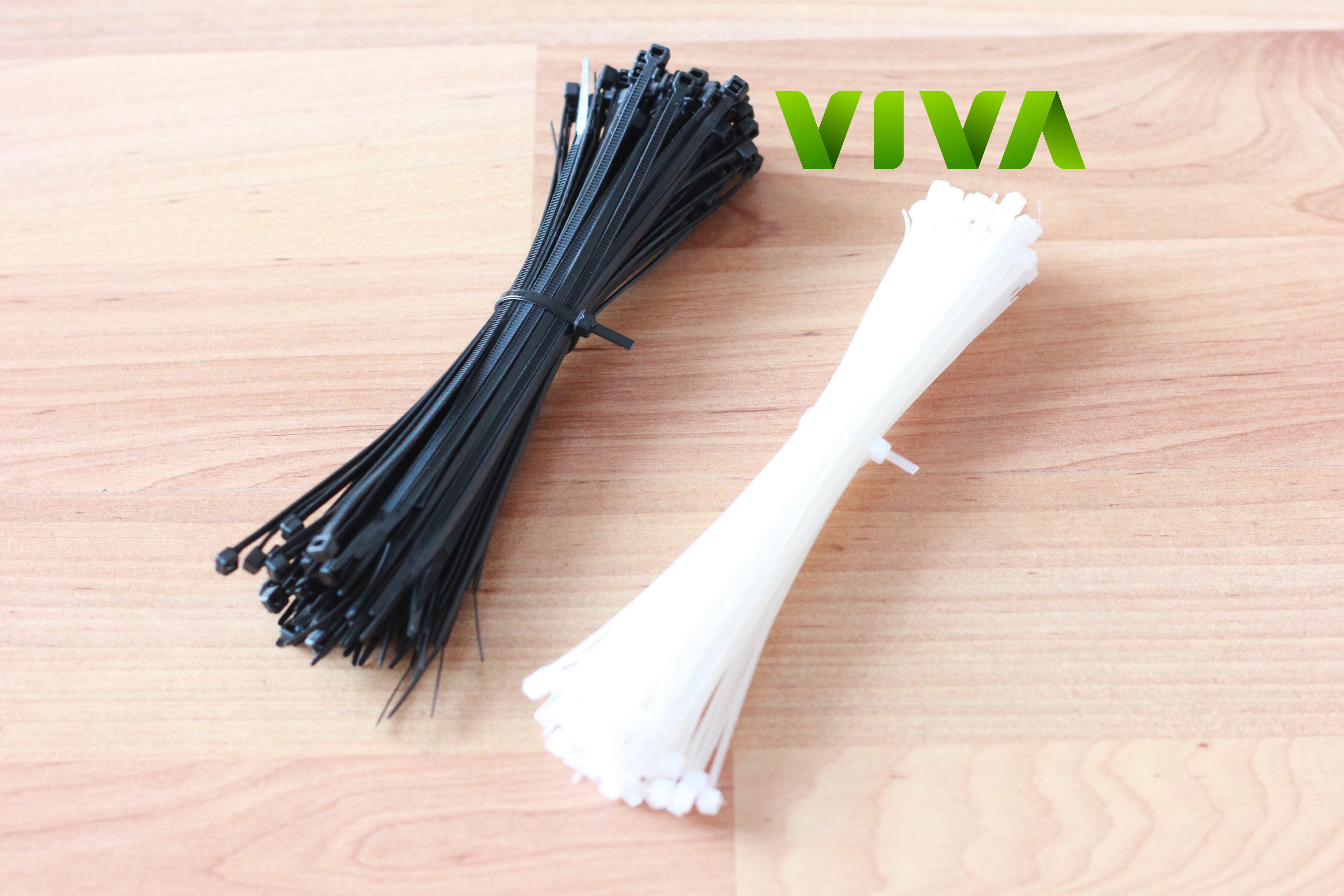 Sự khác nhau giữa dây rút nhựa đen và trắng